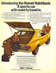 Old ad: Hornet Hatchback