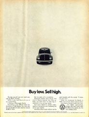 Old ad: VW Bug