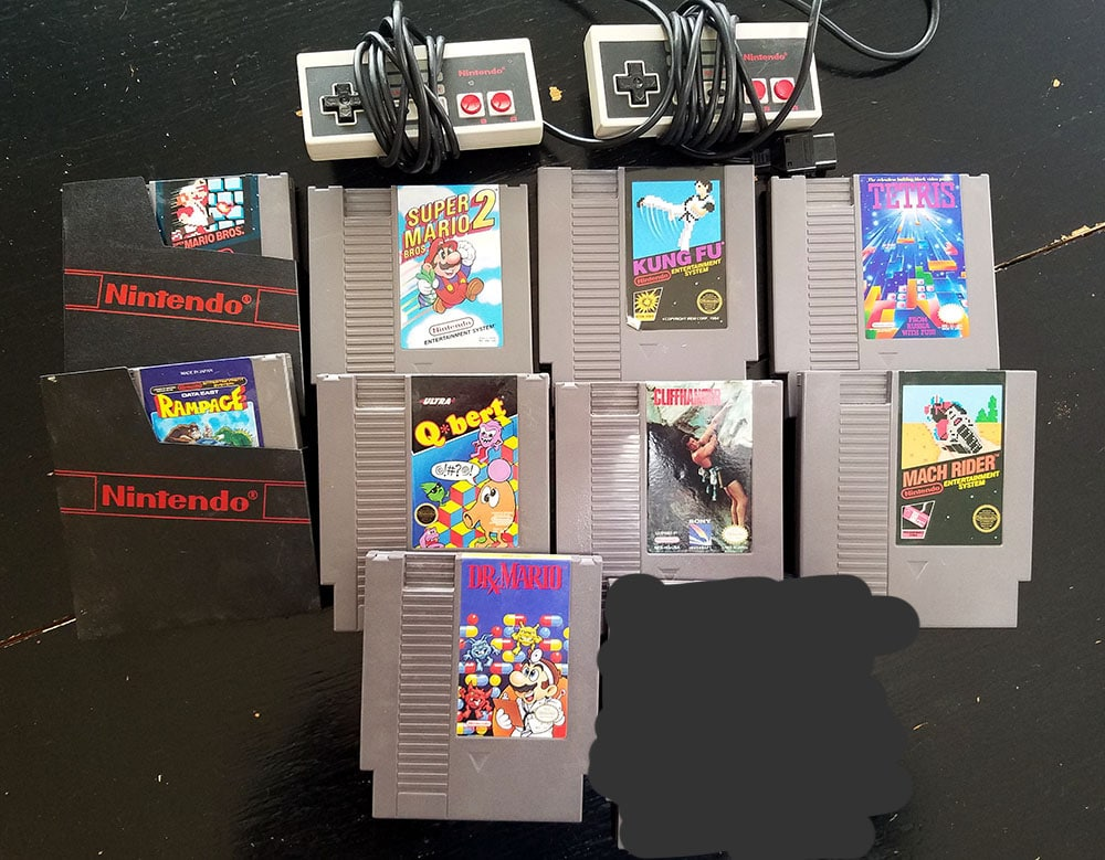 old NES games
