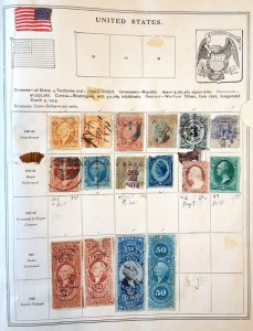 old us stamps collection