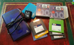 old zip disks reader