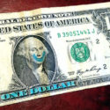 one dollar bill smile