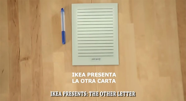 the other letter - IKEA Christmas video