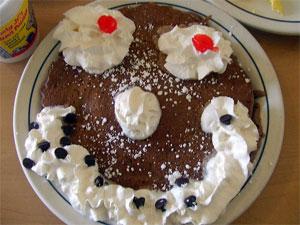 pancake face