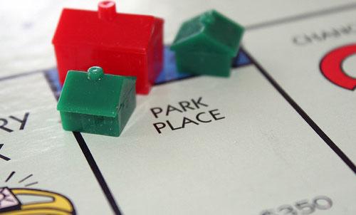 park place monopoly houses
