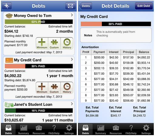 pay off debt app
