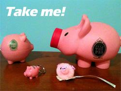 Piggies giveaway