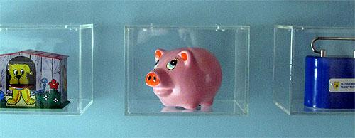 piggy bank capsule