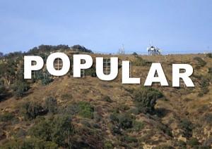 popular hollywood sign