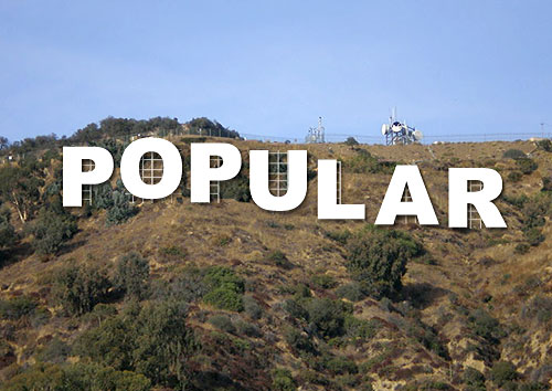 popular hollywood sign