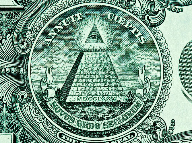 pyramid eye dollar bill