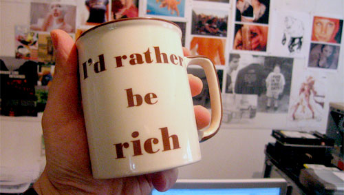 rathre be rich mug