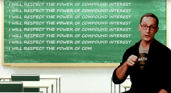 i will respect the power of compound interest