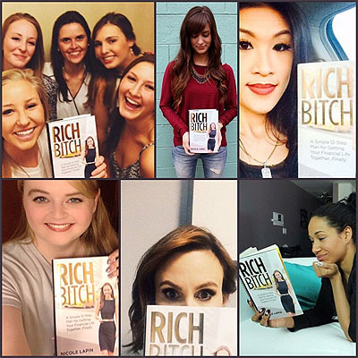 rich bitch book