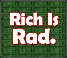 rich is rad.