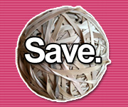 Rubber Band Ball - Save
