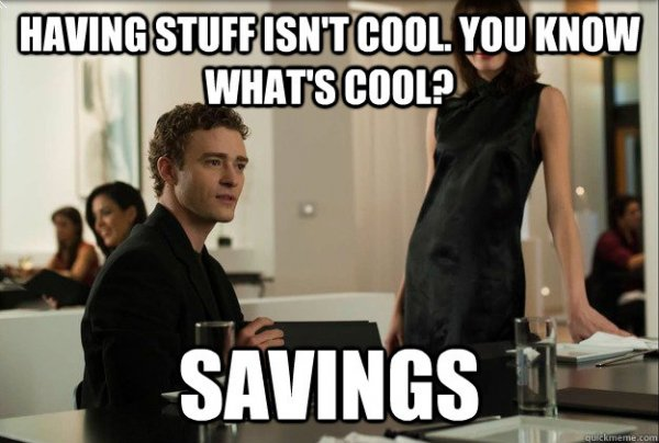 savings is cool