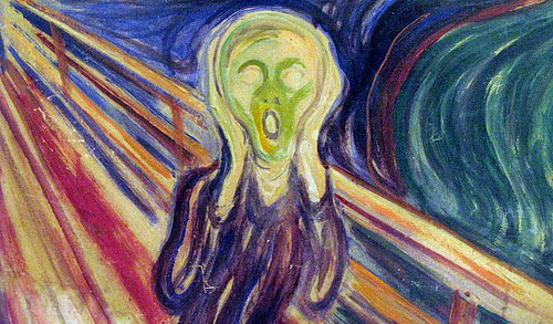 scream painting