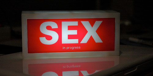 sex light sign