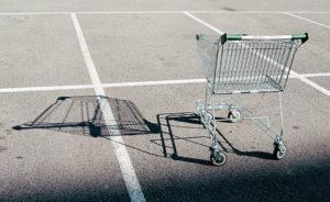 shopping cart shadow