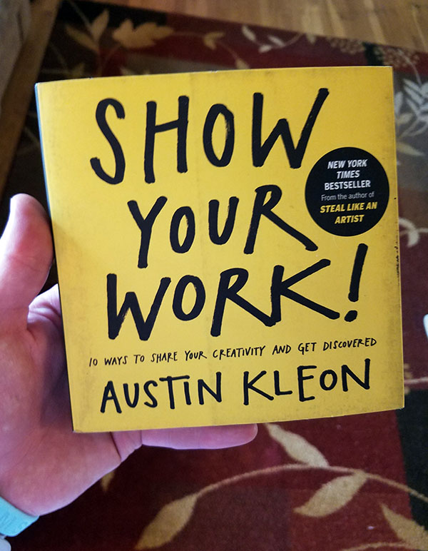 show your work! book