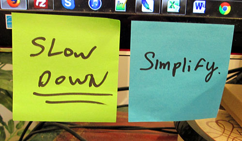 simplify sticky note