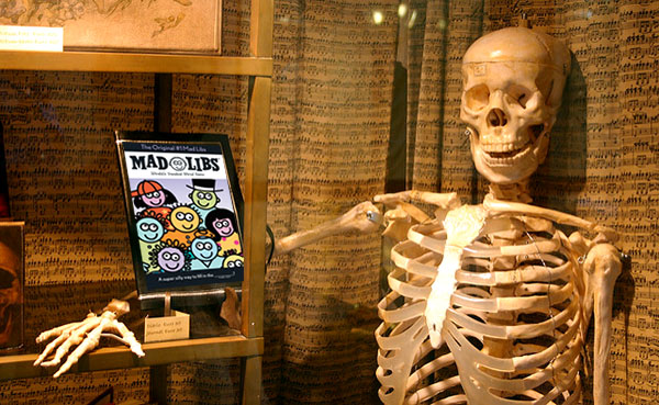skeleton mad libs