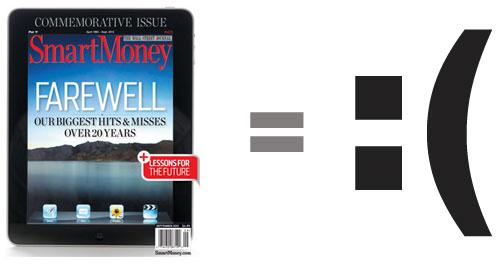 SmartMoney Magazine Shuts Down