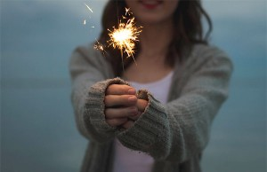sparkly fire cracker