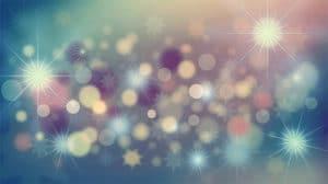 sparkly & shiny
