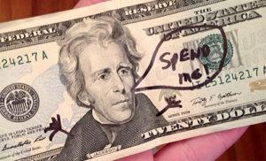 spend me 20 dollars bill