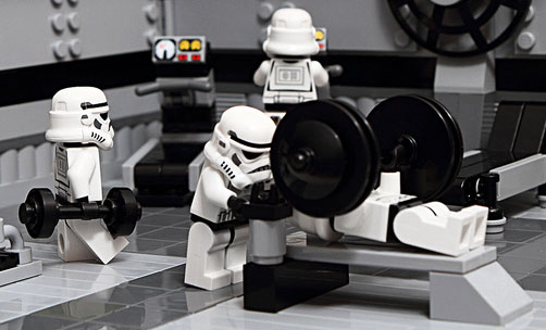 star wars lego gym