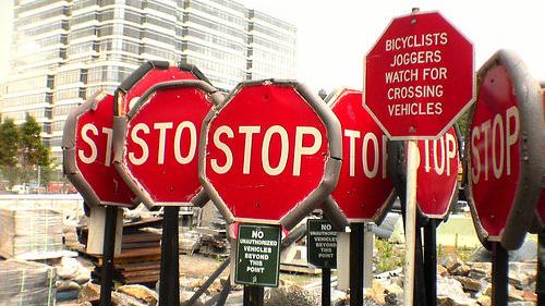 stop sign fiesta