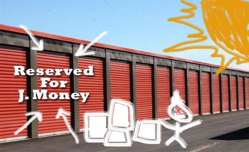 storage unit doodle