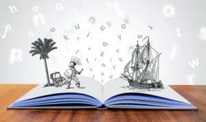 storytelling pirate book