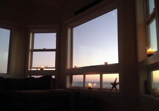 sunset windows apartment
