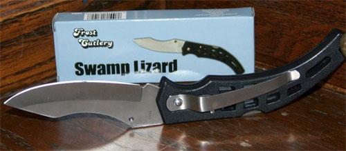 swamp lizard knife - frost cutlery