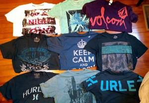 t-shirt scores platos closet