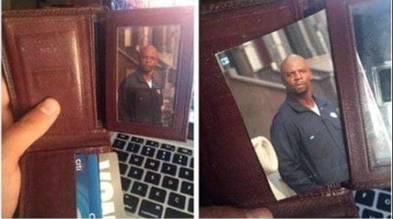 terry crews wallet pics