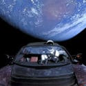 tesla roadster orbiting earth