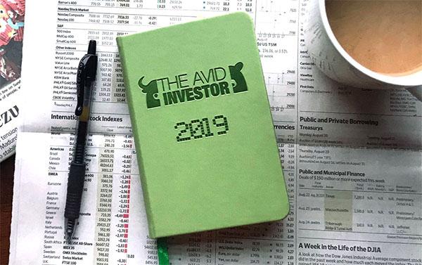 the avid investor 2019 planner