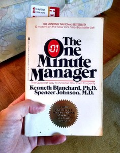 the one minute manager book