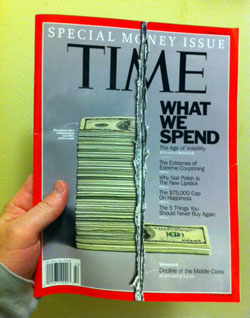 Time Magazine - What We Spend