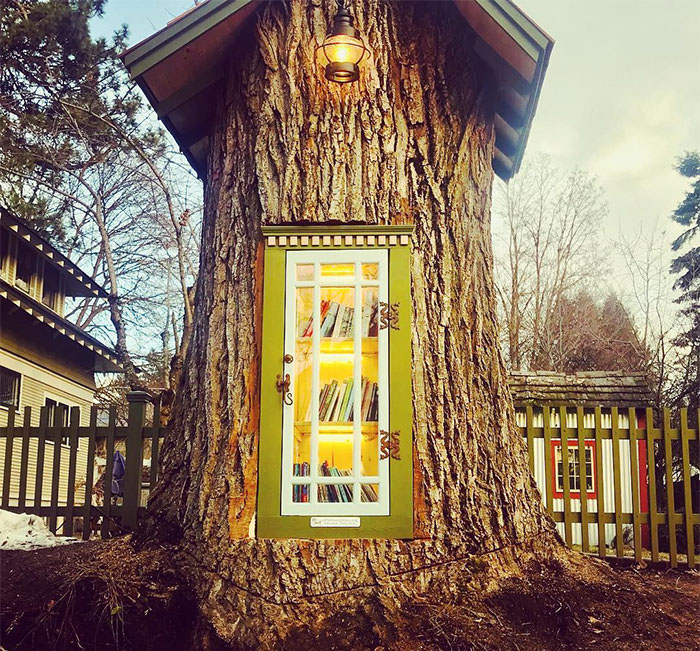 tiny tree library
