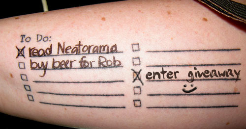 To-Do List Tattoo