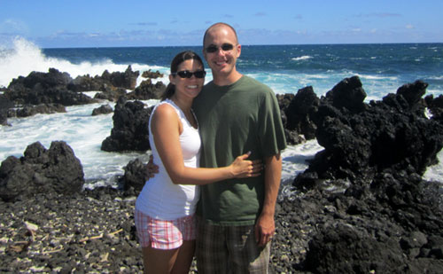 tom meitner & wife in Hawaii