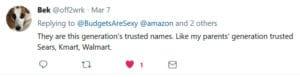 trusted names tweet