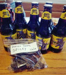 turbodog beer jerky