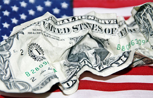 u.s. money flag