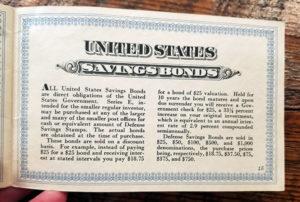 us savings bonds booklet